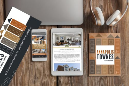 Print and Digital Pieces Designed for Williamsburg Homes