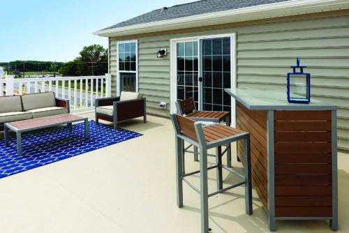 Roof deck in Lanham