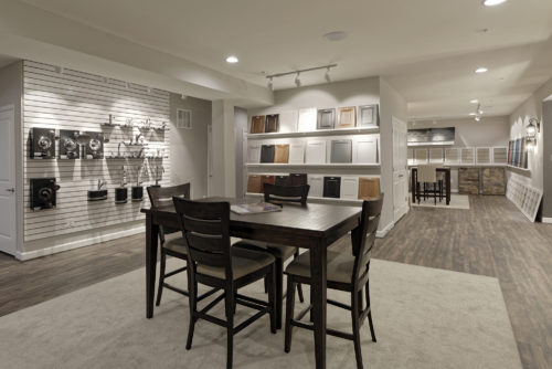 Design center & finishes showroom